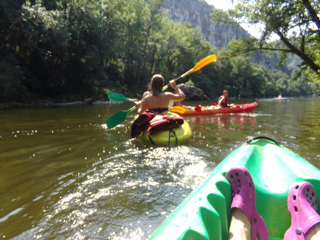 canoe - Balcon des Raspes